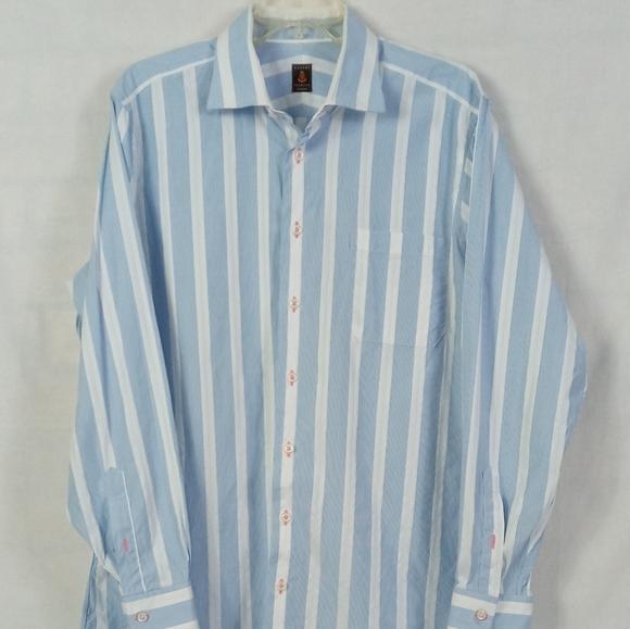 Robert Talbott Men's stripe dress shirt.